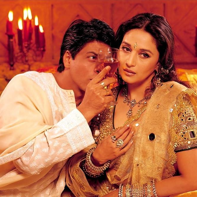 Madhuri Dixit and Shah Rukh Khan in Devdas (2002)