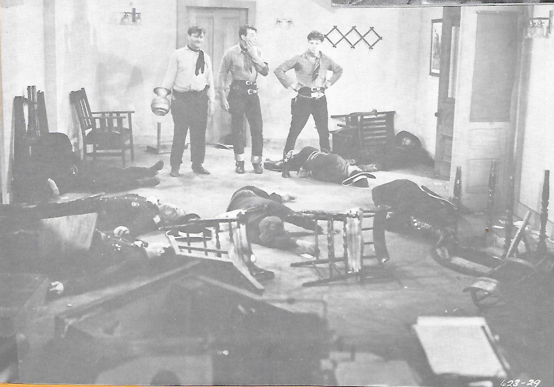 Ray Corrigan, Robert Livingston, and Max Terhune in Ghost-Town Gold (1936)