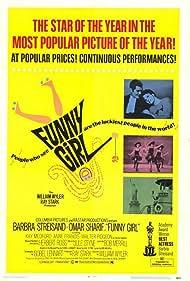 Barbra Streisand and Omar Sharif in Funny Girl (1968)