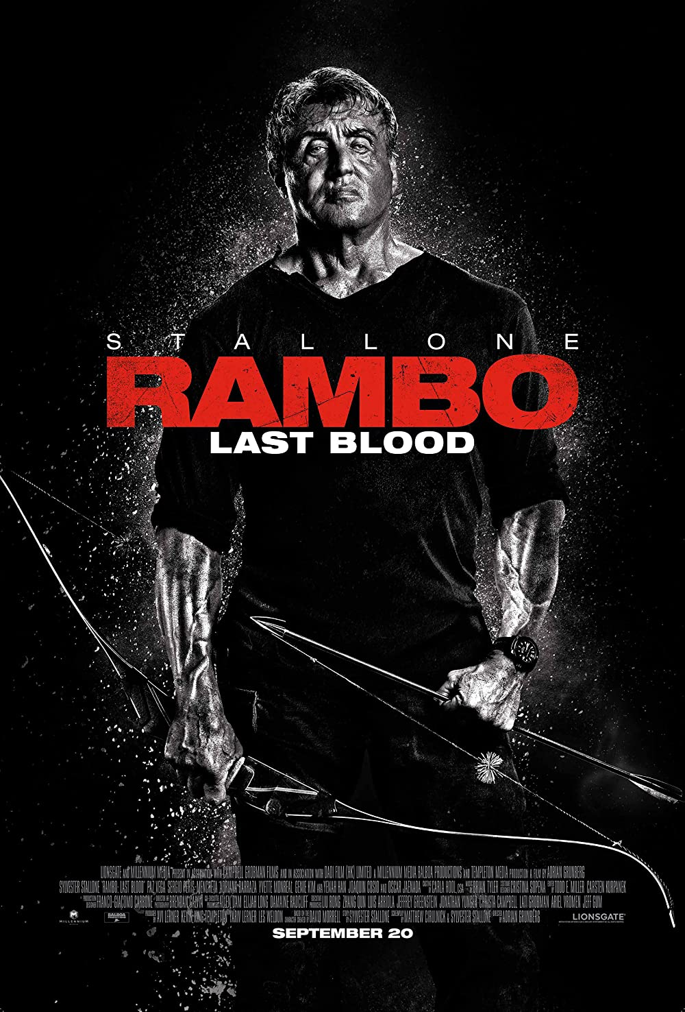 Rambo: Last Blood 2019 Hindi Dual Audio 350MB BluRay ESubs Download