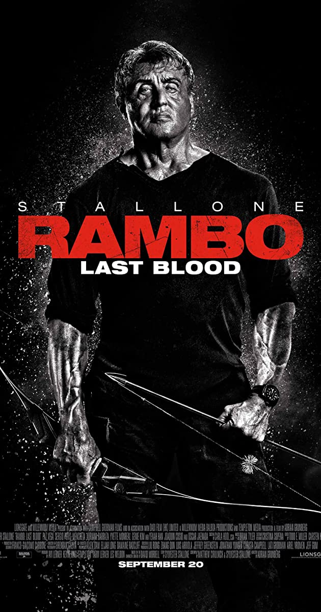 Rambo V Last Blood.(2019) 720p BrRip x264 - YIFY