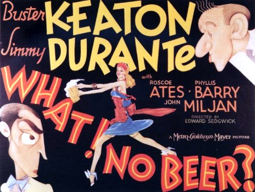 Buster Keaton, Jimmy Durante, and Phyllis Barry in What! No Beer? (1933)