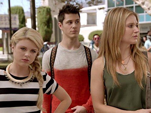 Michael J. Willett, Bailey De Young, and Rita Volk in Faking It (2014)