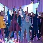Tracey Ullman, Jo Ellen Pellman, Ariana DeBose, Nico Greetham, Logan Riley, and Sofia Deler in The Prom (2020)