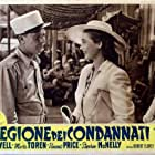 Dick Powell and Märta Torén in Rogues' Regiment (1948)