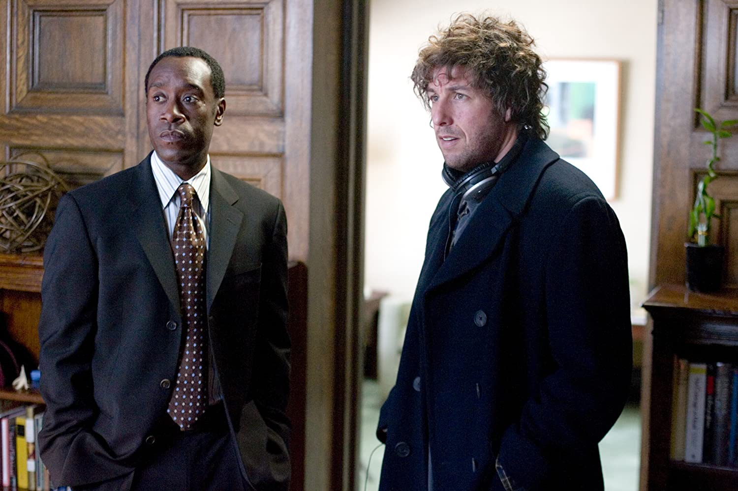 Don Cheadle and Adam Sandler in Reign Over Me (2007)