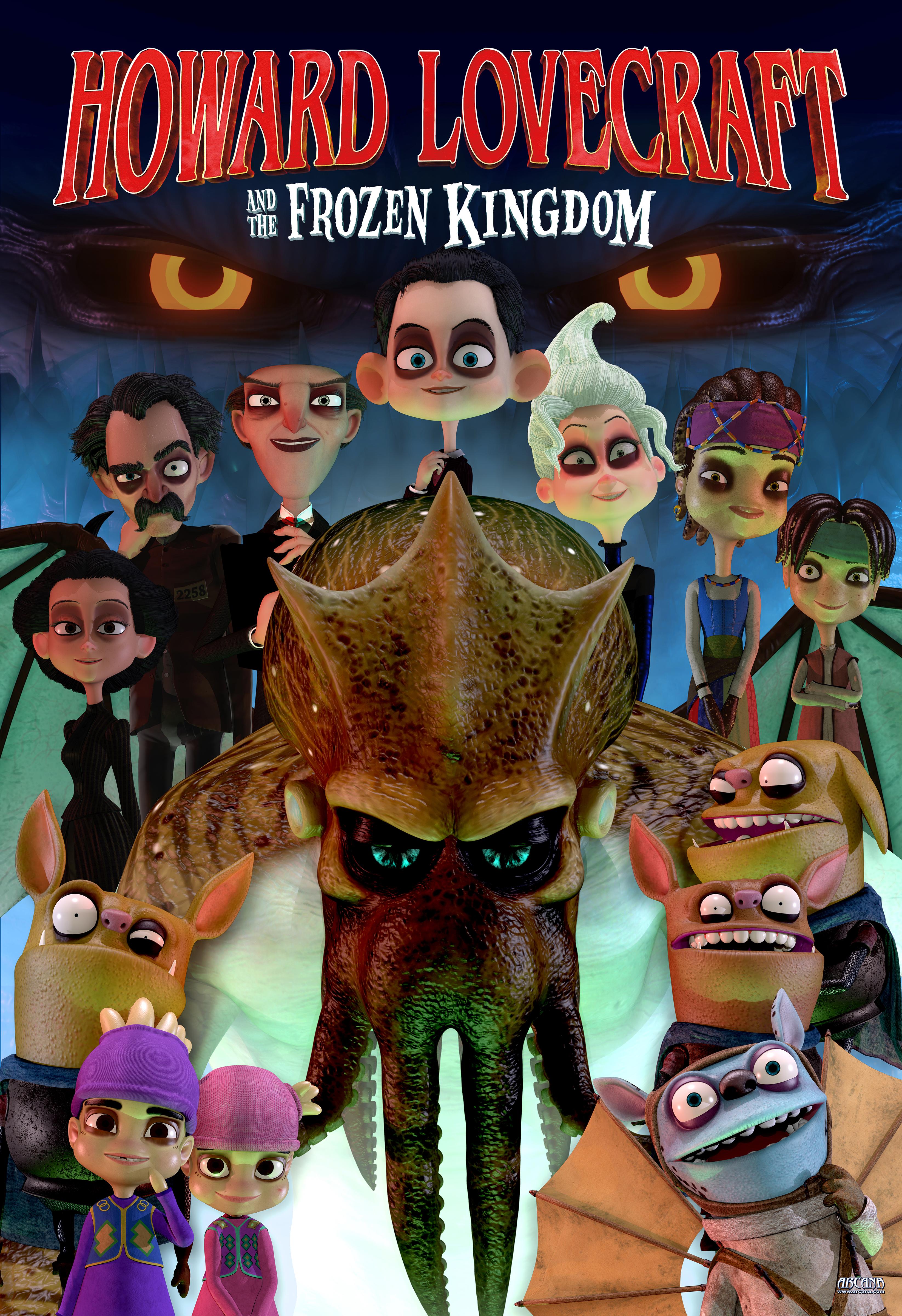 Говард Лавкрафт и Замерзшее Королевство (Howard Lovecraft the Frozen Kingdom, 2016) рекомендации