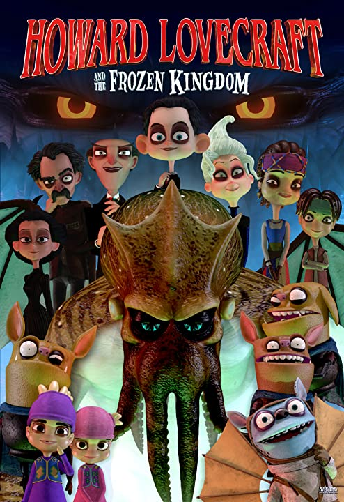 Howard Lovecraft and the Frozen Kingdom (2016) Hindi Dubbed