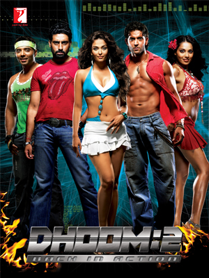 Dhoom 2 (2006) Hindi Movie 450MB BluRay Download