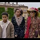 Zoë Wanamaker, Thierry Wickens, and India Brown in Worzel Gummidge (2019)