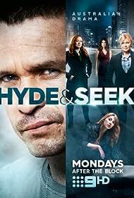 Deborra-Lee Furness, Mandy McElhinney, Matt Nable, and Emma Hamilton in Hyde & Seek (2016)