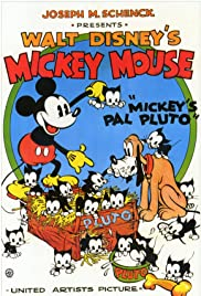 Mickey's Pal Pluto Poster