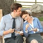 Jenna Fischer and John Krasinski in The Office (2005)