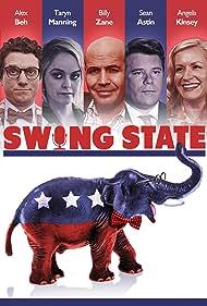 Sean Astin, Billy Zane, Taryn Manning, Angela Kinsey, and Alex Beh in Swing State (2017)
