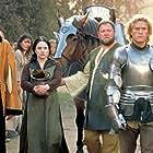 Mark Addy, Heath Ledger, Paul Bettany, Laura Fraser, and Alan Tudyk in A Knight's Tale (2001)