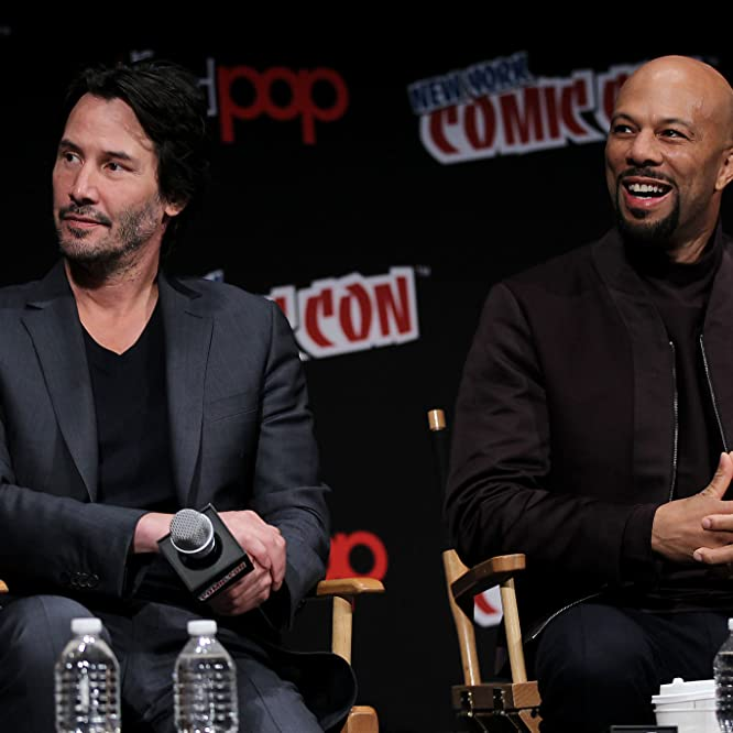 Keanu Reeves and Common