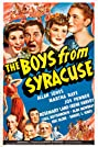 The Boys from Syracuse (1940) Poster