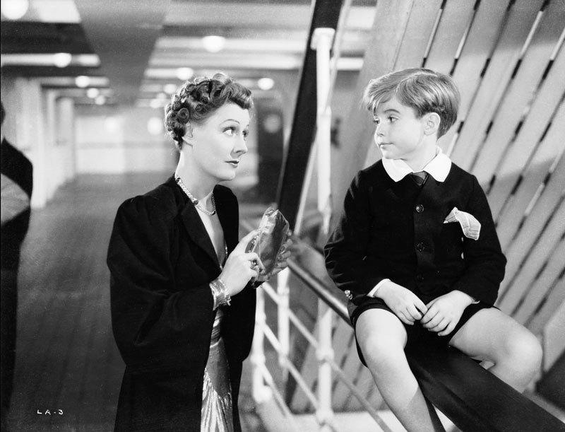 Irene Dunne and Scotty Beckett in Love Affair (1939)