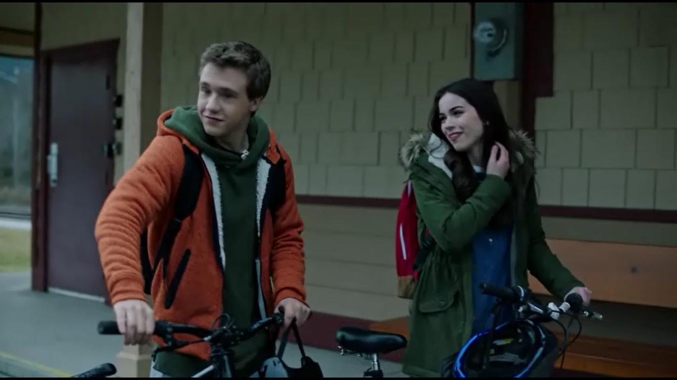 Sarah Desjardins and Nick Purcha in Cold Zone (2017)