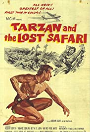 Tarzan and the Lost Safari Poster