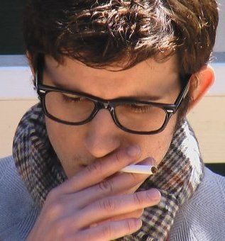 """Still of Andreas Robichaux in """"Waiting for Godard"""""""
