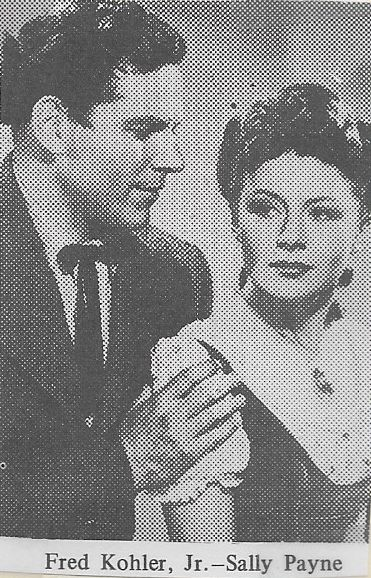 Fred Kohler Jr. and Sally Payne in Nevada City (1941)