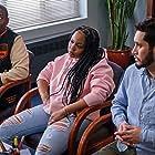 Hassan Johnson, Kristin Dodson, and Dan Perlman in Flatbush Misdemeanors (2021)