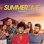 Rebecca Coco Edogamhe, Amanda Campana, Giovanni Maini, Ludovico Tersigni, Amparo Piñero, and Andrea Lattanzi in Summertime (2020)