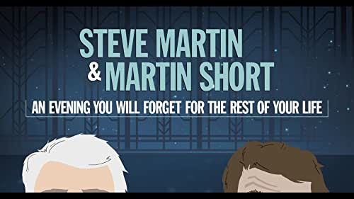 Comedians and writers Steve Martin and Martin Short present a variety of musical sketches and conversations about their iconic careers, most memorable encounters, and of course, their legendary lives in show-business and stand-up.   perform a live comedy set with music by The Steep Canyon Rangers and jazz pianist, Jeff Babko, at the Peace Center in Greenville, South Carolina.