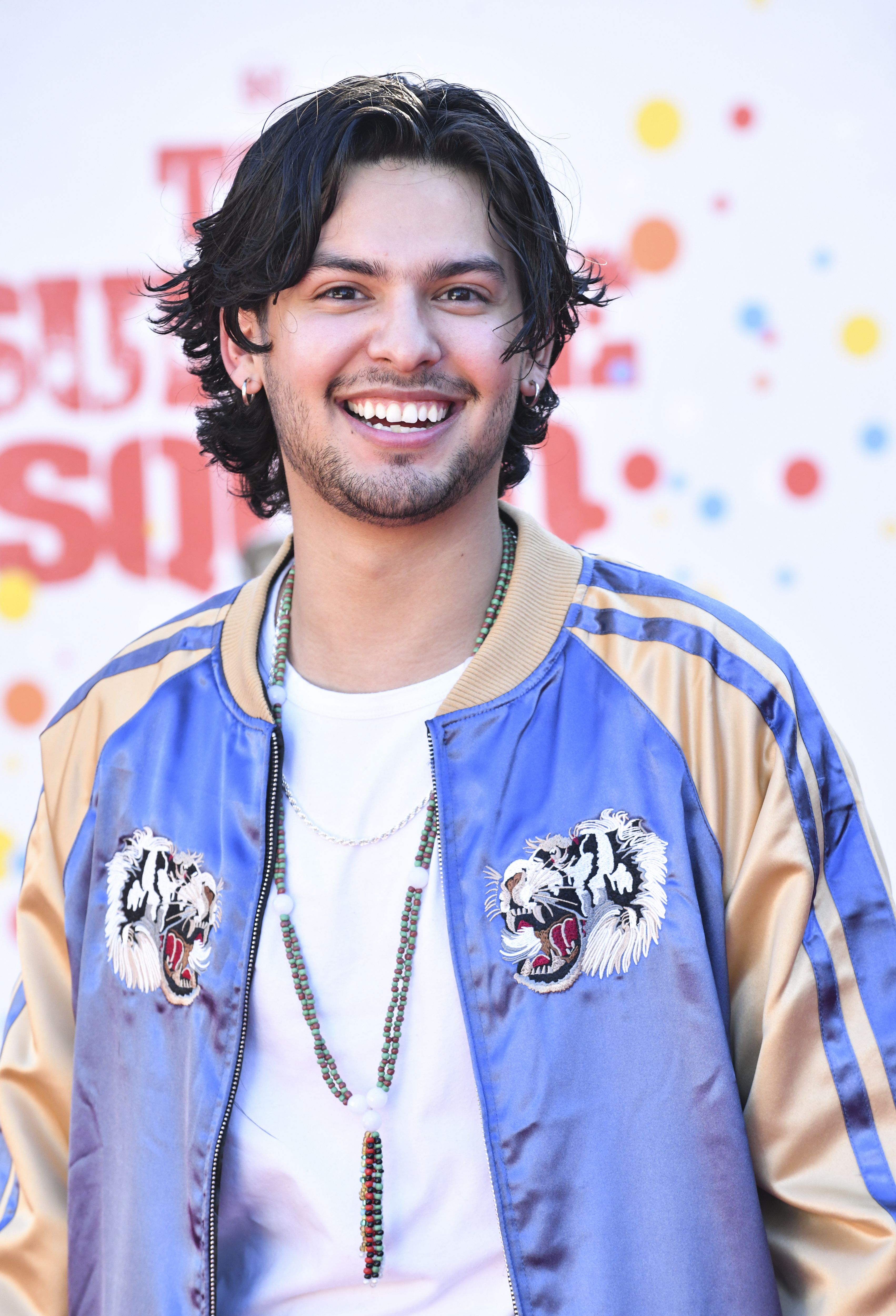 Xolo Maridueña at an event for The Suicide Squad (2021)