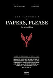 Papers, Please: The Short Film Poster