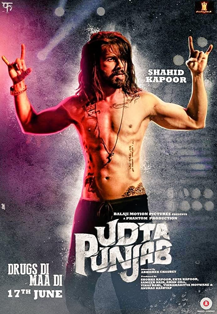 Udta Punjab 2016 Hindi BluRay 720p 1.1GB AAC MKV
