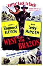 West of the Brazos (1950) Poster