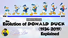 Evolution of Donald Duck (1934-2019)
