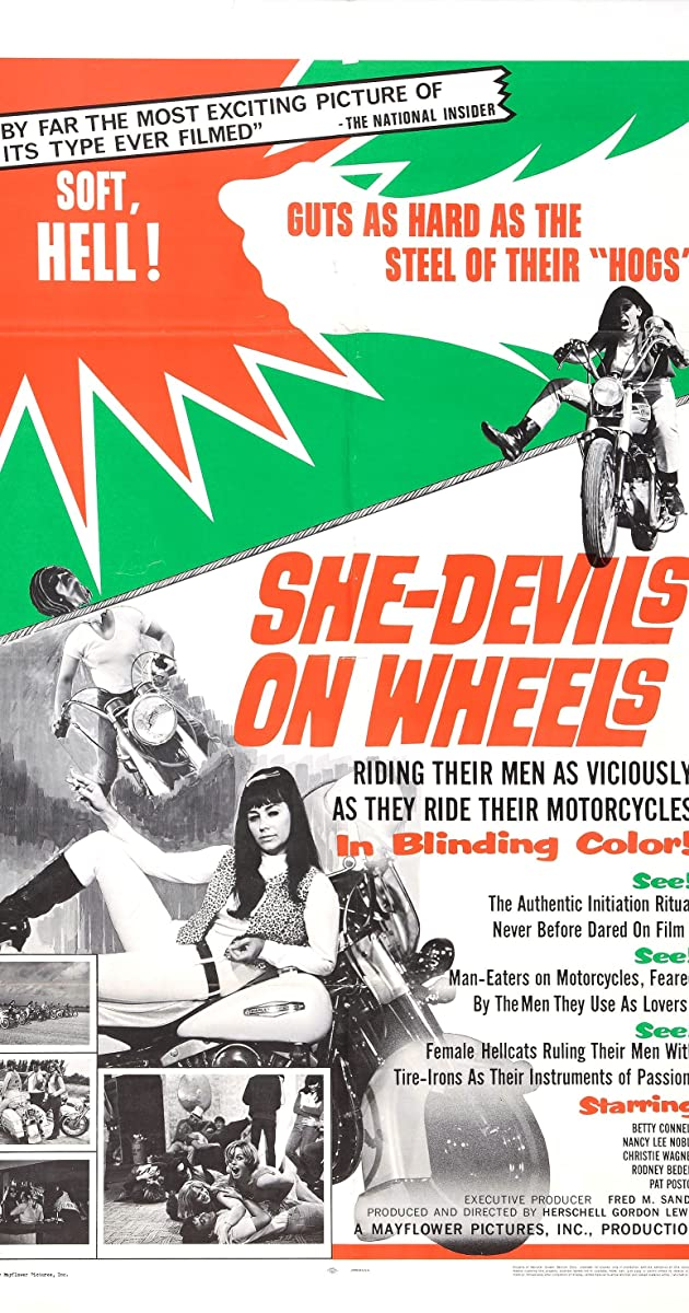 Subtitle of She-Devils on Wheels