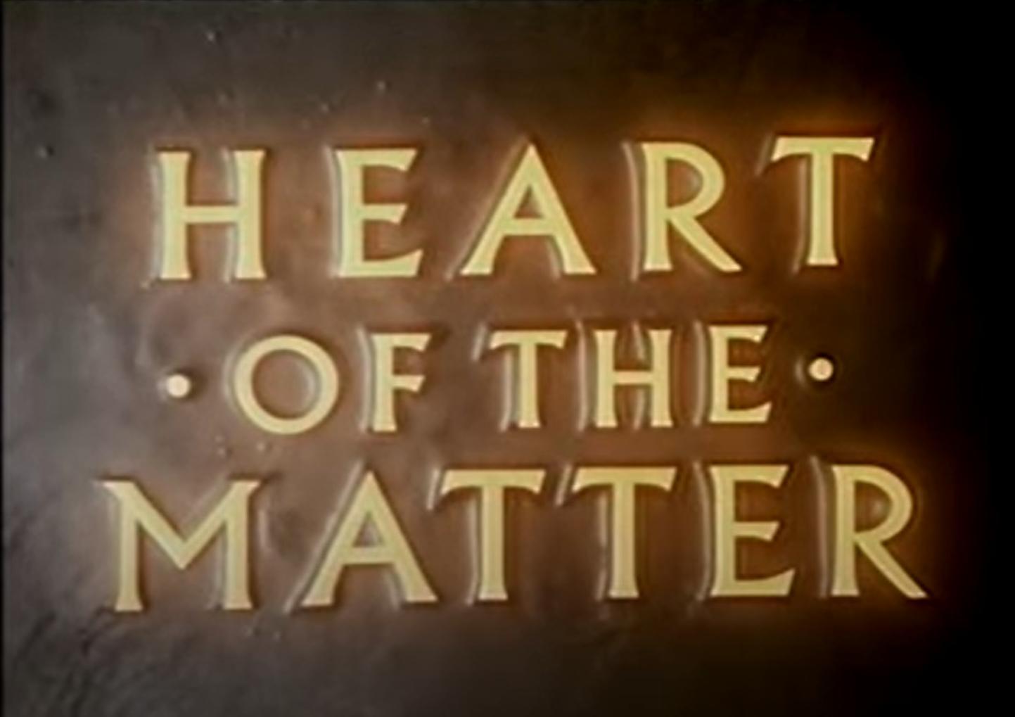 Heart of the Matter (1979)