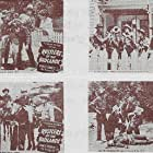 Carla Balenda, Tex Harding, Ted Mapes, Charles Starrett, Dub Taylor, and Al Trace in Rustlers of the Badlands (1945)