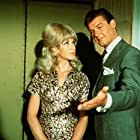 Roger Moore and Sylvia Syms in The Fiction-Makers (1968)