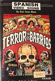 Terror en los barrios Poster