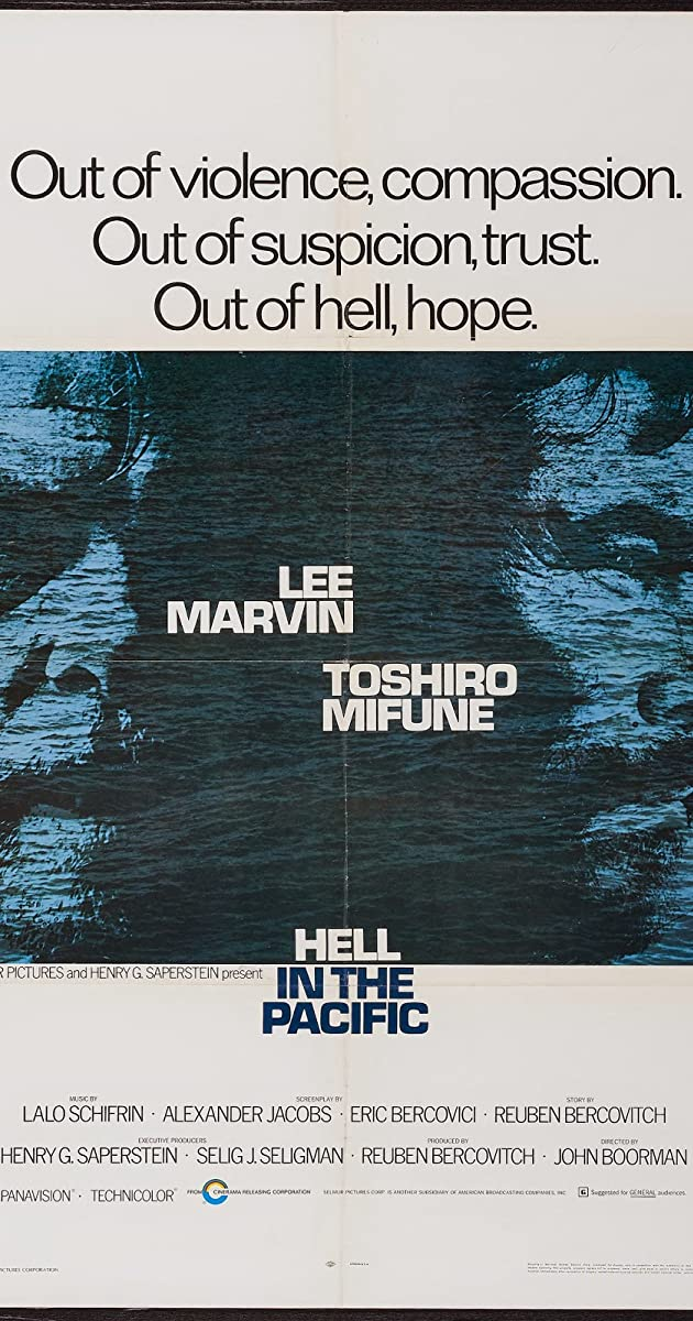 Hell in the Pacific (1968) - IMDb