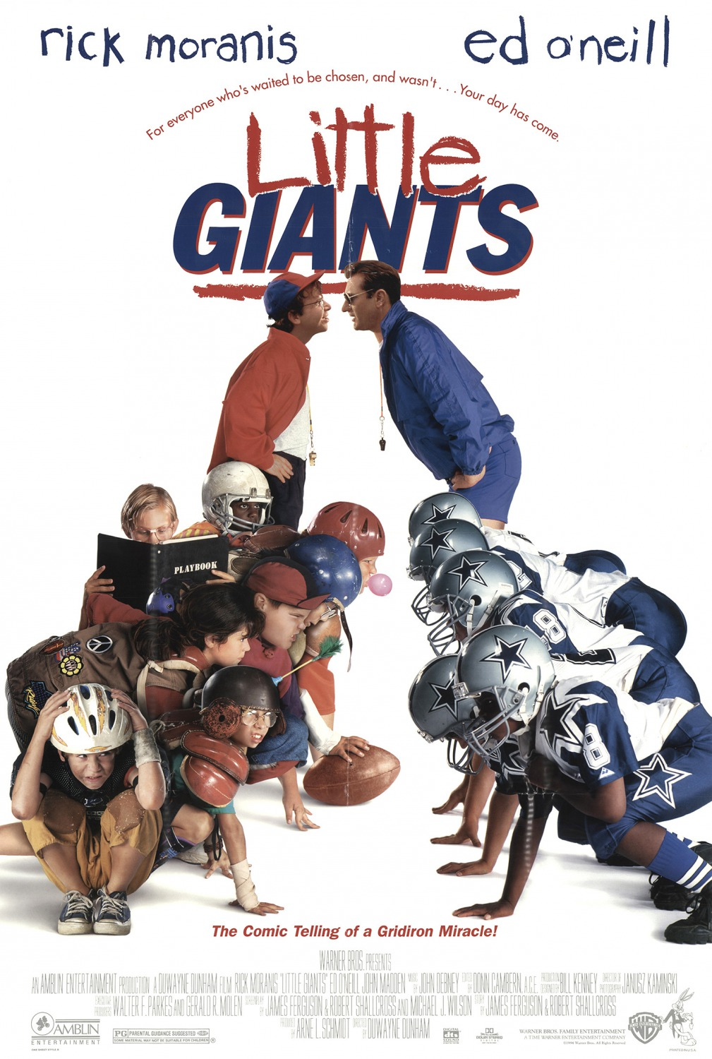 Image result for little giants movie poster