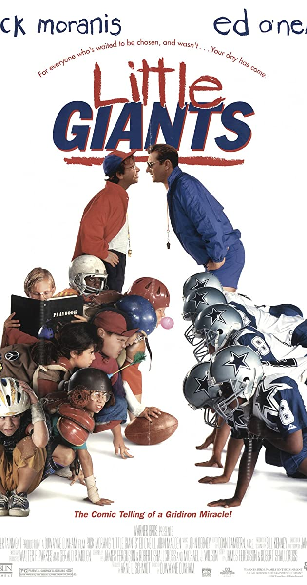 Play or Watch Movies for free Little Giants (1994)
