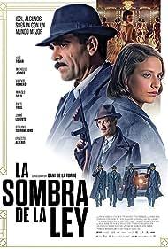 Ernesto Alterio, Luis Tosar, and Michelle Jenner in La sombra de la ley (2018)