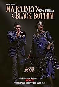 Viola Davis and Chadwick Boseman in Ma Rainey's Black Bottom (2020)