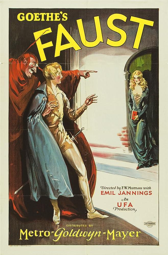 Camilla Horn and Emil Jannings in Faust: Eine deutsche Volkssage (1926)