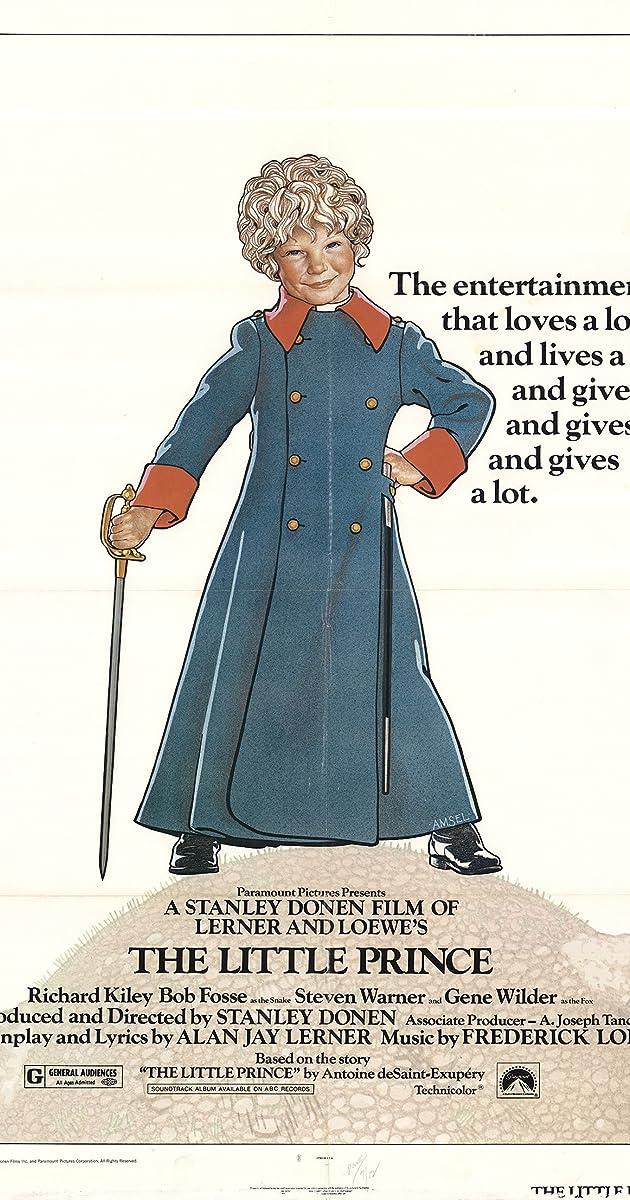 The Little Prince 1974 Plot Summary Imdb