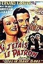 Si j'étais le patron (1934) Poster