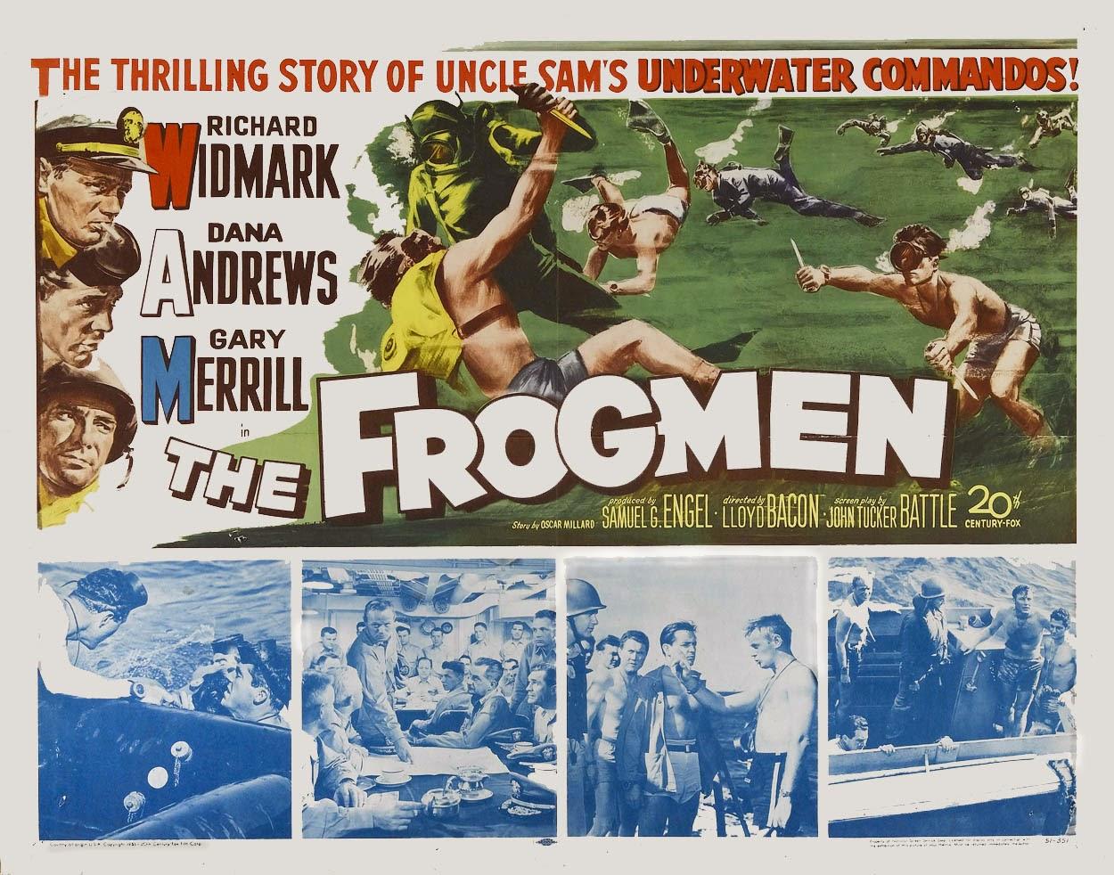 War Movie : The Frogmen (1951)