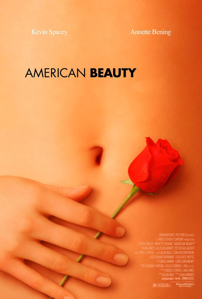 18+ American Beauty 1999 Dual Audio Hindi 400MB BluRay ESubs Download