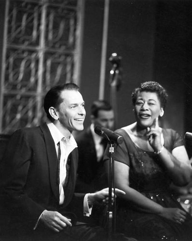 Frank Sinatra and Ella Fitzgerald in The Frank Sinatra Show (1957)